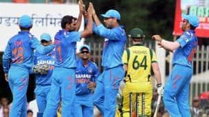 India vs Australia, 4th ODI at Ranchi
