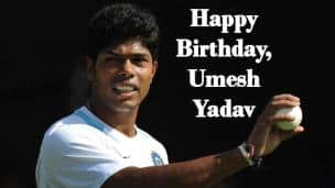 Happy Birthday, Umesh Yadav !