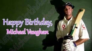 Happy Birthday, Michael Vaughan!