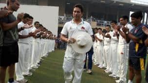 Sachin Tendulkar's final match in Ranji Trophy: Haryana vs Mumbai at Lahli