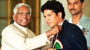 Image result for sachin tendulkar arjun award