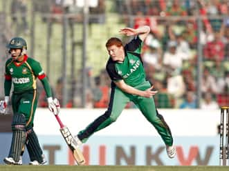 ICC World T20 2012 warm-up: Ireland beat Bangladesh by five runs