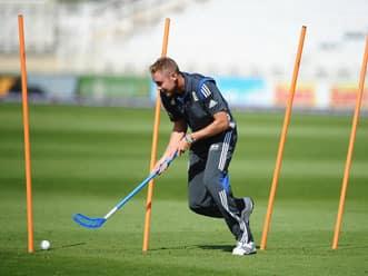 Stuart Broad mulls over England's practice session gains