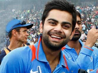 Dhoni has been counseling me on how to keep my emotions in check, says Kohli
