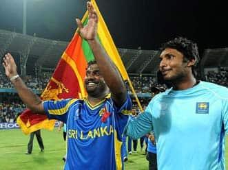 We did it for Murali: Sangakkara