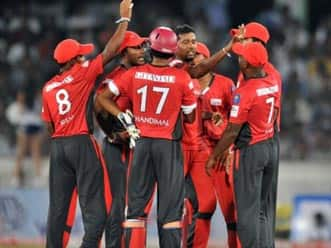 Ruhuna down Leicestershire to stay alive in CLT20