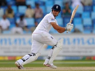 Alastair Cook, Andrew Strauss lead England's charge on second day