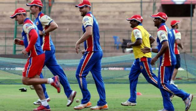 IPL 2013: Royal Challengers Bangalore begin training