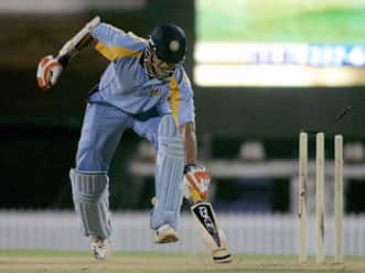 India Blue fight back to set a target of 275