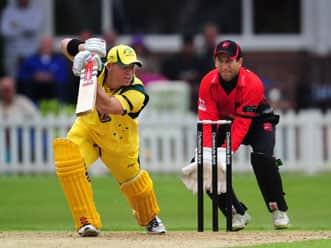 David Warner, Clint McKay shine in Australia's win over Leicestershire