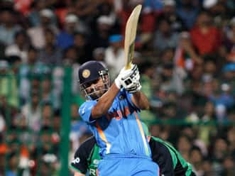 Yusuf Pathan - entertainer par excellence.