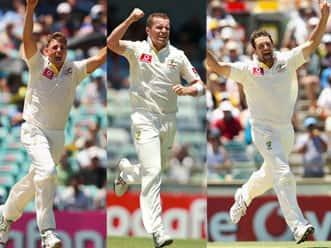 Pattinson, Siddle and Hilfenhaus should be too hot for WI in the Test series