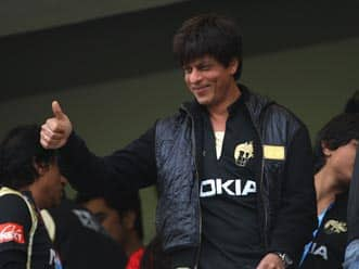 Shah Rukh Khan confident of KKR's good show in IPL 5