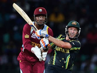 ICC World T20 2012: Australia seal win over West Indies by D/L