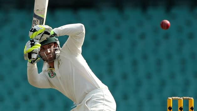 Australia vs Sri Lanka, first Test match at Hobart – Phil Hughes dismissal