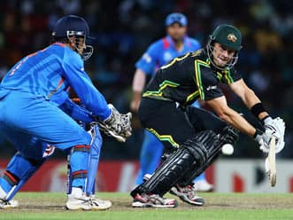 ICC World T20 2012: Australia annihilate India in Super Eights clash