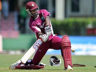 Kieran Powell's ton ensures draw for West Indies