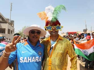India vs England 2012-13: Fans excited ahead of ODI match at Ranchi