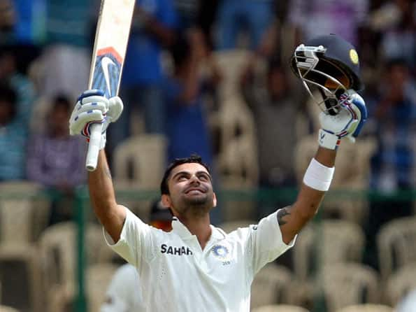 Virat Kohli's coach happy with his ward's progress in Test cricket