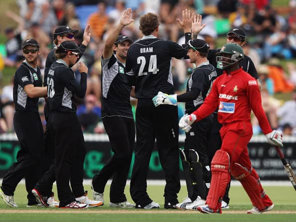 New Zealand inflict massive defeat on Zimbabwe