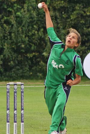 Ireland's Elena Tice becomes second youngest cricketer