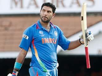 West Indies halt India after Yuvraj ton
