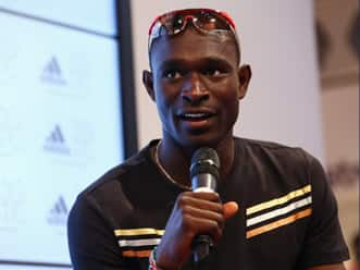 Sachin Tendulkar finds a fan in David Rudisha