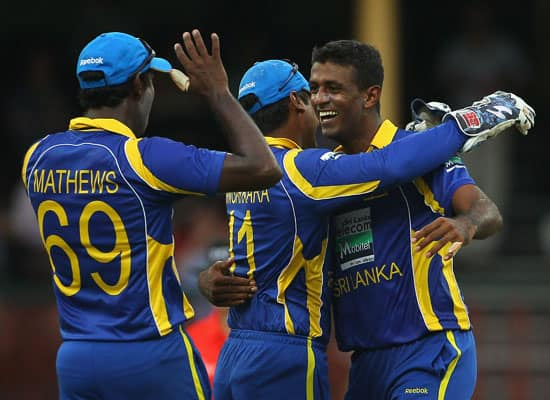 Australia vs Sri Lanka, CB Series 6th ODI, Sydney (Feb 17, 2012)