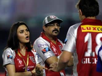 IPL 2012: Rajiv Shukla asks for report on Preity Zinta's argument with umpire