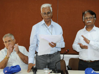 Chandrashekar Sant elected President of Sports Journalists Association of Mumbai
