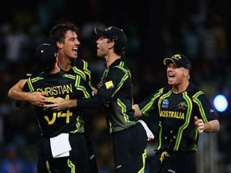 ICC World T20 2012: Virat Kohli blow for India as Pat Cummins strikes