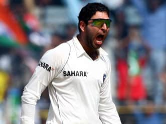 Yuvraj singh given india the option of spin bowler.