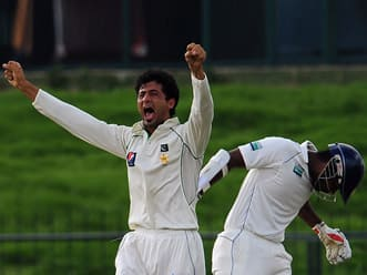 Bowlers put Pakistan on top on day one