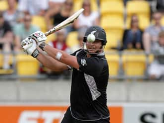 Ryder hits ton as New Zealand make 311 for 7