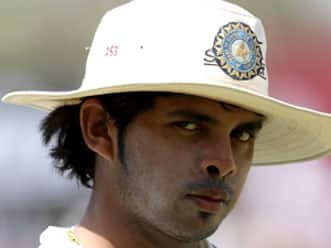 Toe injury sidelines Sreesanth for eight weeks