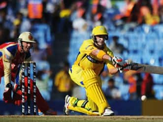 Lucky Hussey's 83 pushes Chennai to 183