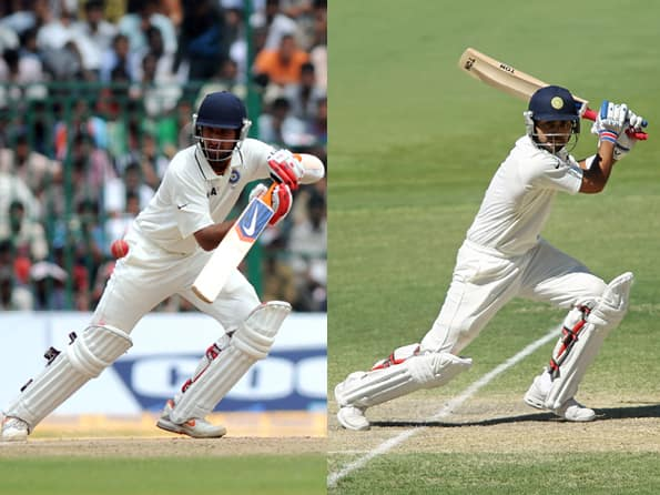 With the future in mind, Pujara and Kohli should bat at No 3 & No 4 respectively