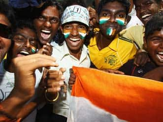 Fans over the moon after India's stylish win over Pakistan
