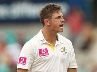 Pattinson, Clarke and Hilfenhaus speaks after the conclusion of the second day at SCG