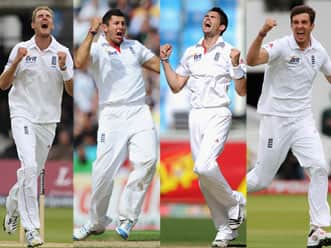 England may play four-pronged pace attack of Broad, Bresnan, Anderson & Finn
