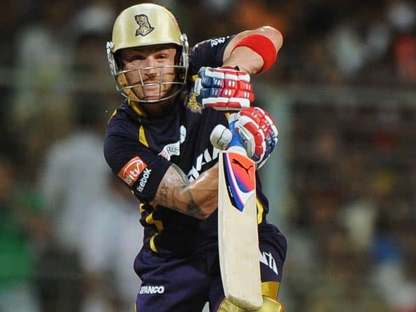 Kallis, Yusuf, Narine and Lee hold the aces for KKR against CSK
