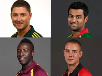 Clarke, Tamim, Levi, Russell, Broad & Narine among newbies to watch out in IPL5