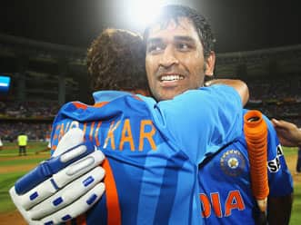 Dhoni wins World Cup for India