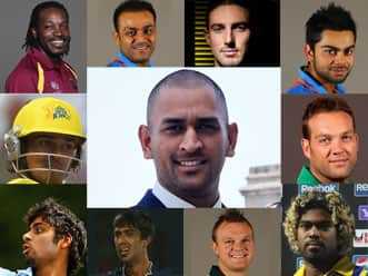 The team of best players of IPL4.