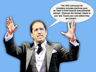 Arindam Chaudhuri dares Indian cricket team to think beyond flat tracks at home