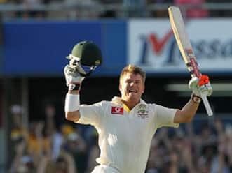 David Warner century at WACA, Australia vs India 3rd Test at Perth