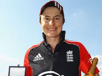 England's Claire Taylor calls it a day