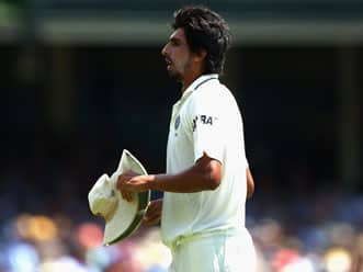 Ishant Sharma addresses the press on day two of the fourth Test at Adelaide