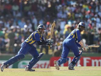 Dilshan, Tharanga centuries propel Sri Lanka to 327/6