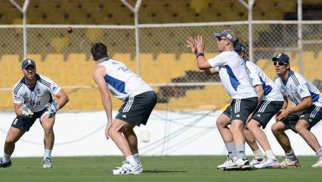 India vs England 2012-13: Visitors sweat it out ahead of first ODI